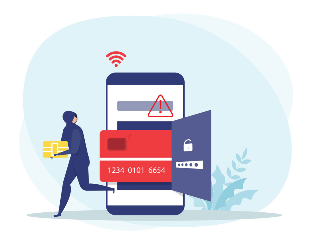 Online fraudster getting away with stealing product due to stolen password Online fraud Password fraud Identity theft
